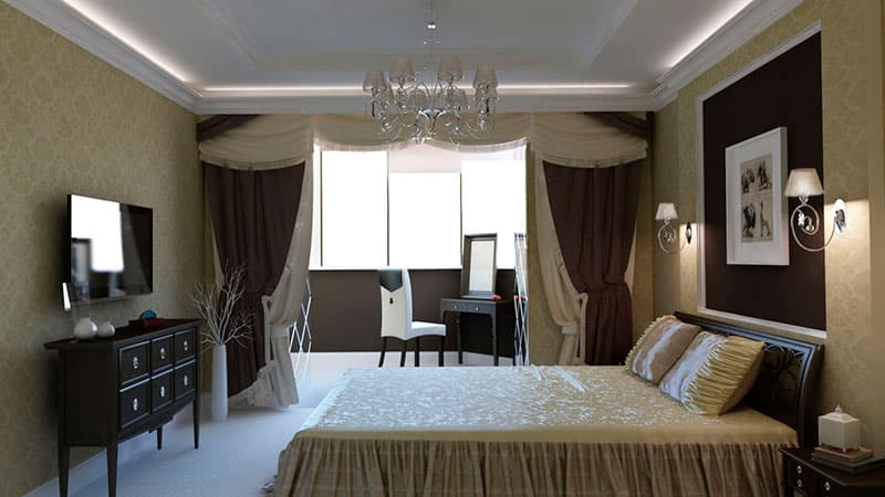 Объединенный балкон с комнатой