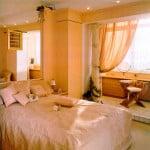 совмещение комнаты с лоджией фото