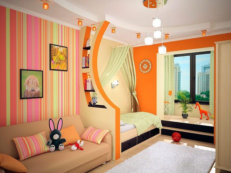 Дизайн комнаты с балконом в панельном доме фото