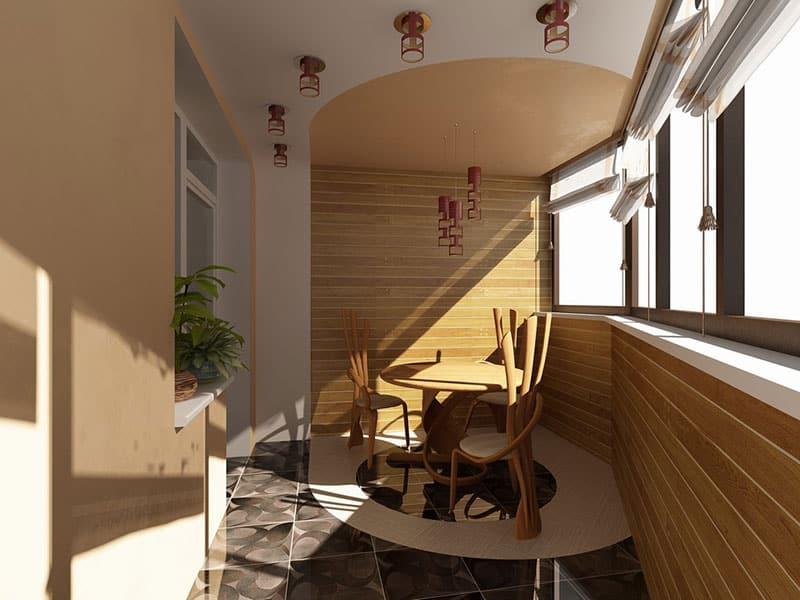 Декор балкона своими руками с фото