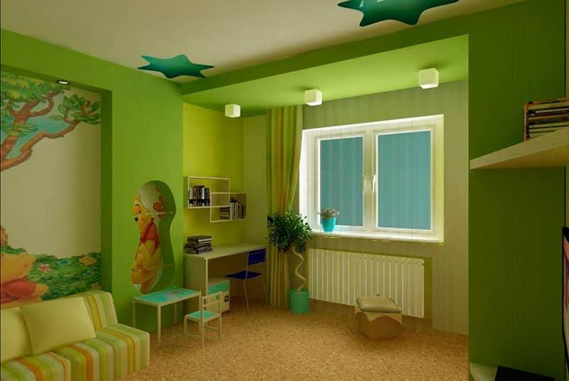Дизайн кухни совмещенной с комнатой