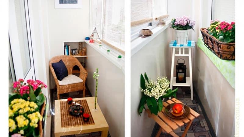 Дизайн интерьера маленького балкона и лоджии в квартире фото.