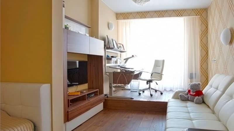 Дизайны подростковых комнат объединенных с балконом фото..
