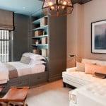 Совмещение спальной комнаты с балконом