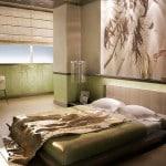 Дизайн оформления совмещенной спальни с лоджией