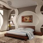 Оформление спальни с лоджией