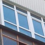 Французский балкон в многоэтажке
