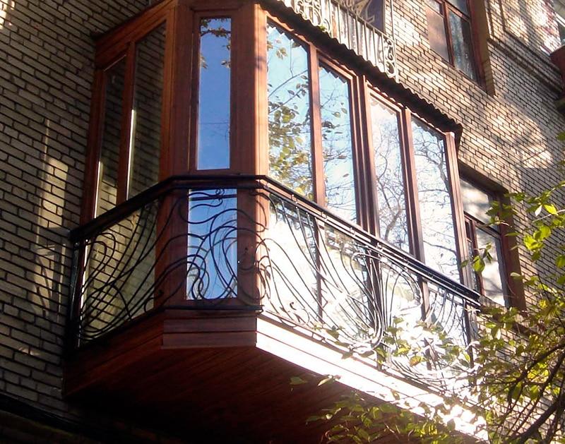 французское остекление балкона картинки