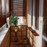 Интерьер балкона и лоджии фото