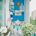декор и варианты обустройства балконов и лоджий фото