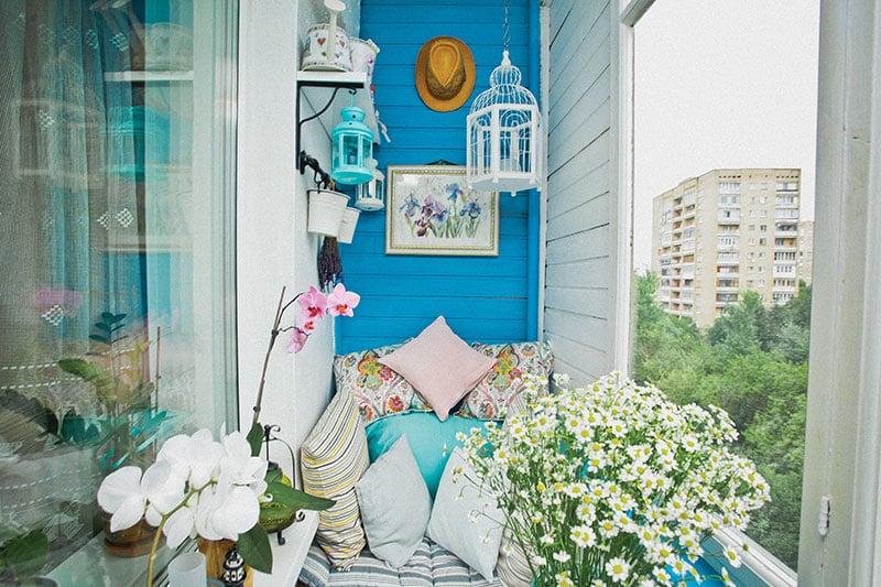 Фото дизайна балконов и лоджий
