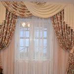 шторы для зала с балконом своими руками