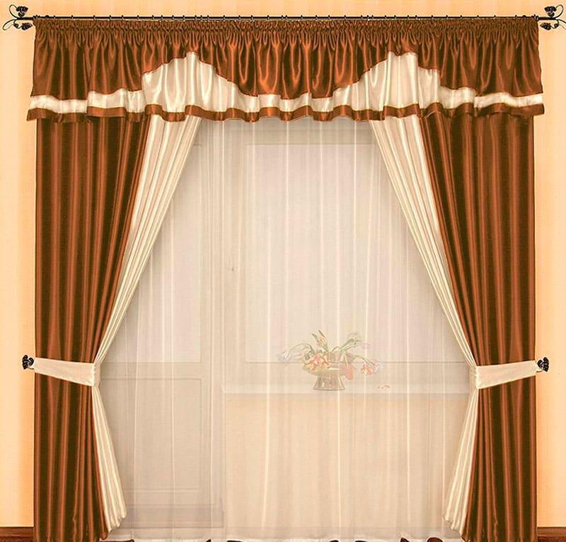 Дизайн портьер и штор фото