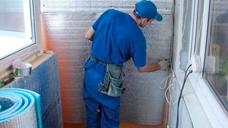 """Теплоизоляция пеноплэкс комфорт для балкона и лоджии: """"зачем."""