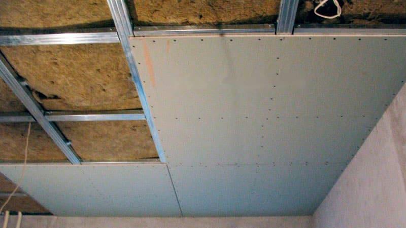 Как утеплить потолок на балконе