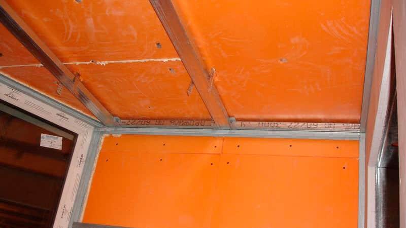 Как утеплить потолок на балконе: видео инструкция.