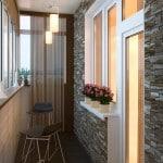 Красивый балкон фото интерьера