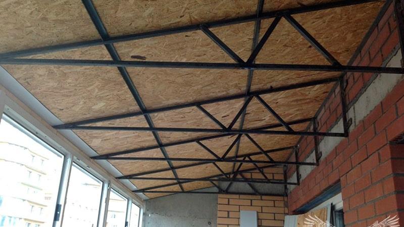 Крыша над балконом своими руками: как сделать ремонт и утепл.