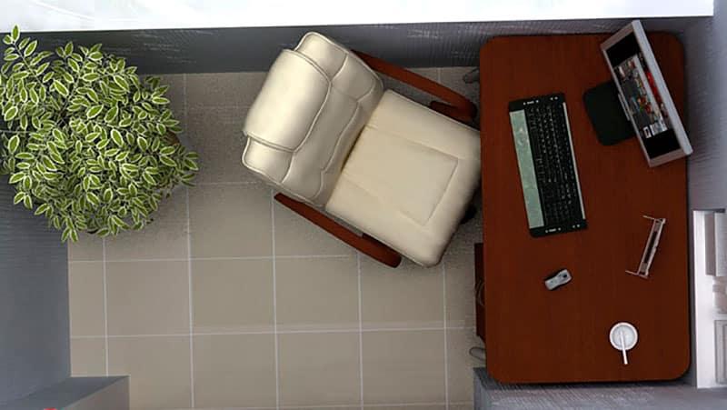 Идея для зала в хрущевке 146