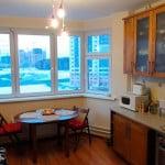 кухня на лоджии дизайн фото