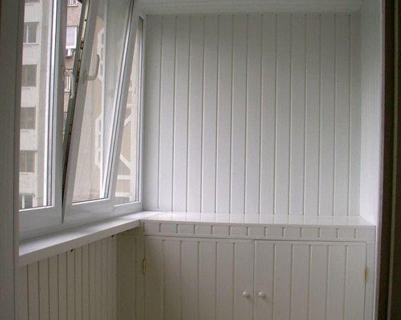 Отделка балкона вагонкой пвх. - готовые балконы - каталог ст.