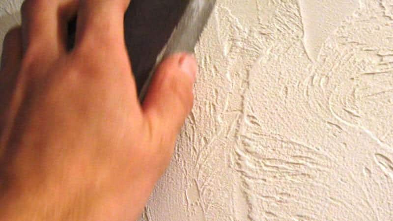 Нанесение штукатурки на стены