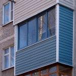 Сайдинг для балкона и лоджии