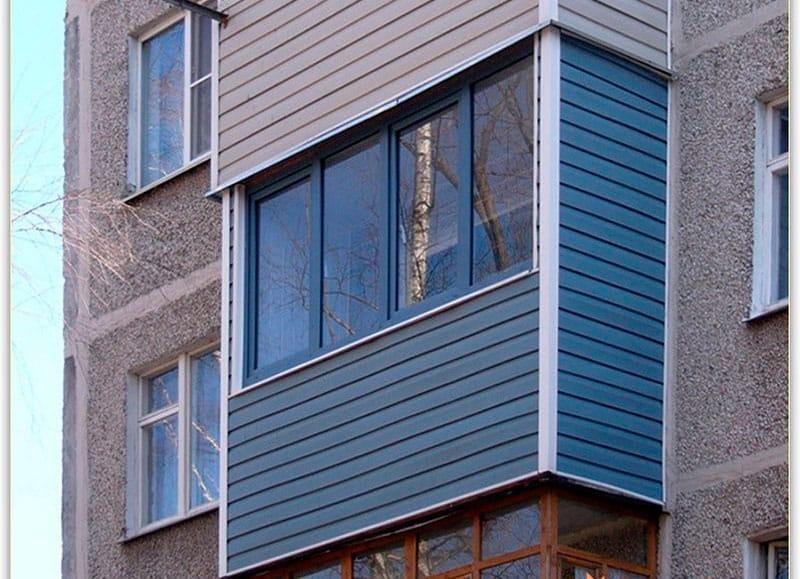 Обшивка балкона снаружи своими руками сайдингом 71