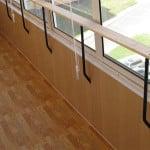 отделка внутри балкона панелями фото
