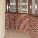 современная отделка балконов фото