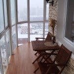 балкон внутренняя отделка