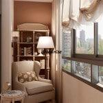 балкон отделка внутри