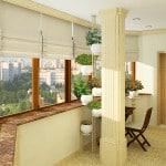 материал для отделки балконов фото