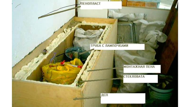 Как сделать ящик для овощей на зиму