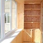 Шкаф на лоджии фото