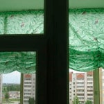 Изготовление штор на лоджию