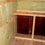 Утепляем стены балкона минеральной ватой