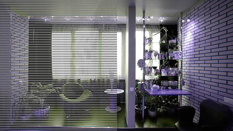 Дизайн утеплённого балкона