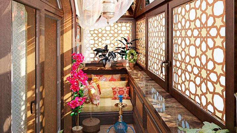Дизайн балконов фото в японском стиле.