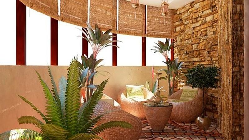 Утепленные балкон и лоджия: дизайн и оформление.