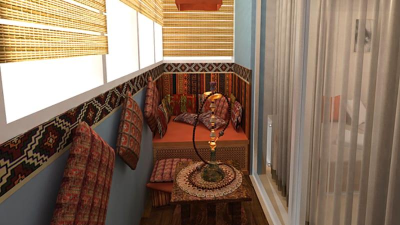 Диванчик и тумба на балкон своими руками: фото и видео инстр.