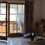Французкие раздвижные двери на балконе