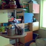 Рабочее место для ребенка на балконе