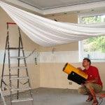 Как обшить потолок на балконе