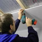 Как обшить потолок на балконе своими руками