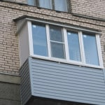 Ремонт балконной крыши