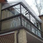 Балкон с плитой на консольных блоках