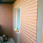 Отделка балкона под кирпич: как отделать лоджию своими рукам.