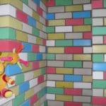 Кирпичная стена под покраску