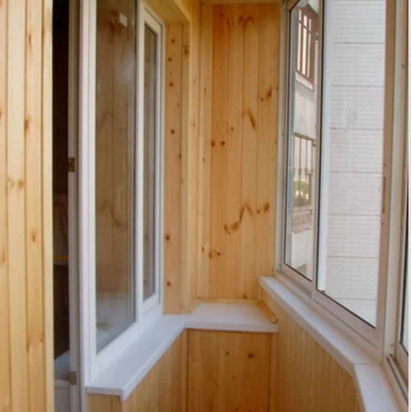 Варианты отделки балконов: офрмление лоджии варианты.